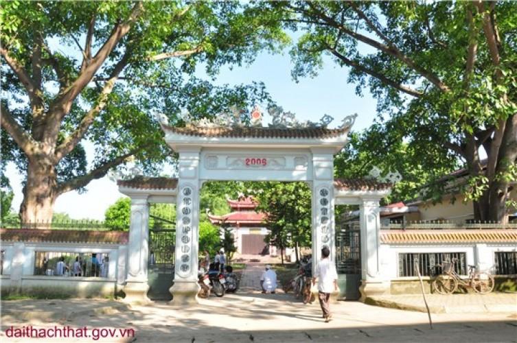 Ảnh phong cảnh quê hương xã Cần Kiệm