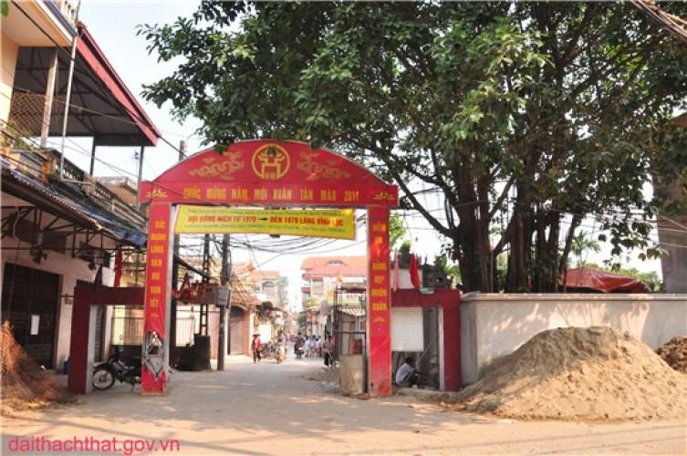 Ảnh phong cảnh quê hương xã Phùng Xá