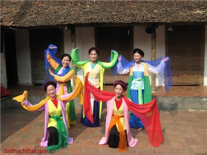 Ảnh phong cảnh quê hương xã Canh Nậu