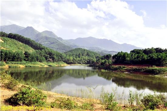 Ảnh phong cảnh quê hương xã Yên Trung
