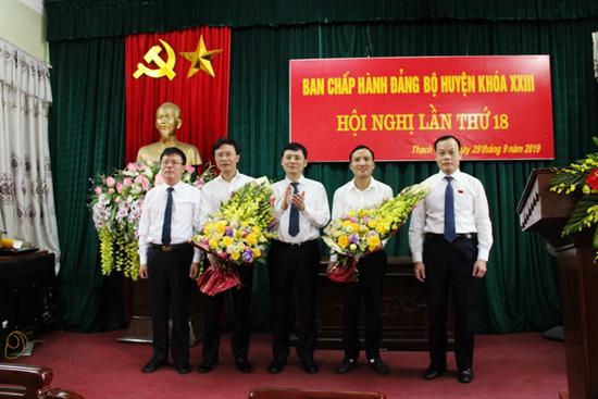 Hội nghị lần thứ 18- Ban chấp hành Đảng bộ huyện Thạch Thất khóa XXIII