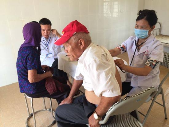 Triển khai mô hình Trạm y tế điểm tại xã Lại Thượng