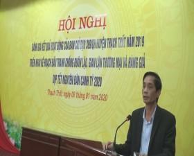 Tổng kết Ban chỉ đạo 389 huyện Thạch Thất năm 2019