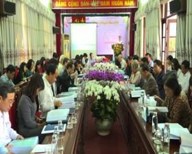 Hội nghị xin ý kiến về cuốn Địa chí huyện Thạch Thất