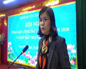 Huyện Thạch Thất tổng kết công tác Dân tộc năm 2020