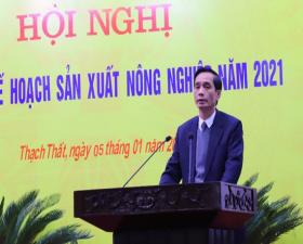 Thạch Thất triển khai Kế hoạch sản xuất nông nghiệp năm 2021