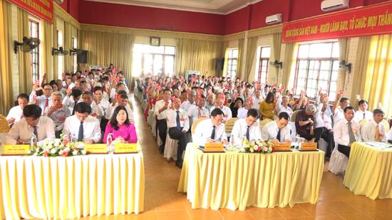 Đại hội Đảng bộ xã Cẩm Yên lần thứ XXXI, nhiệm kỳ 2020-2025