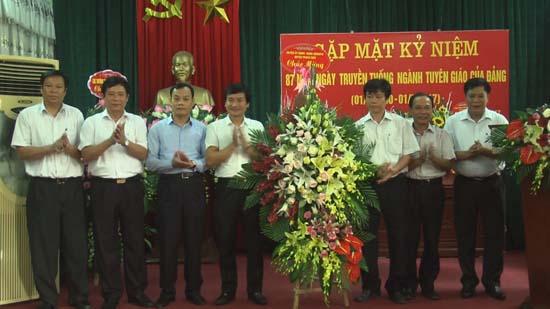 Thạch Thất kỷ niệm 87 năm Ngày truyền thống ngành Tuyên giáo của Đảng