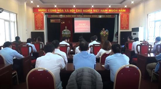 Huyện Thạch Thất: Bồi dưỡng kiến thức Quốc phòng - An ninh cho đối tượng 3 năm 2020