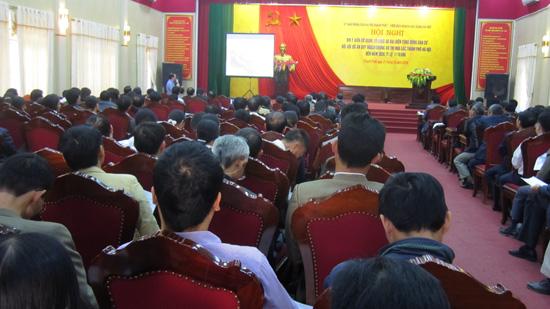 Hội nghị lấy ý kiến đối với đồ án Quy hoạch chung đô thị vệ tinh Hòa Lạc