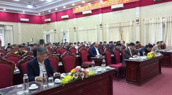Đoàn đại biểu Quốc hội thành phố Hà Nội tiếp xúc cử tri tại huyện Thạch Thất