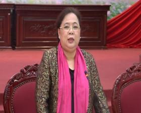 Đồng chí Nguyễn Thị Bích Ngọc- Phó Bí thư Thành ủy- Chủ tịch HĐND thành phố Hà Nội về làm việc tại huyện Thạch Thất