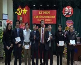 Bệnh viện Đa khoa huyện Thạch Thất tổ chức Kỷ niệm 64 năm ngày Thầy thuốc việt nam (27/2/1955- 27/2/2019)