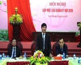 Huyện Thạch Thất gặp mặt đầu xuân Kỷ Hợi 2019