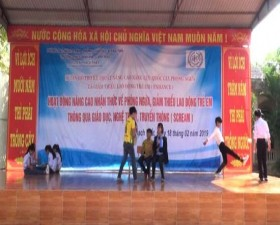 Trường THCS Minh Hà xã Canh Nậu truyền thông về phòng ngừa và giảm thiểu lao động trẻ em