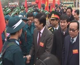 Thạch Thất tổ chức ngày hội giao quân năm 2014