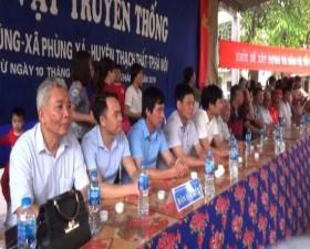Khai mạc Hội vật truyền thống làng Bùng- xã Phùng Xá
