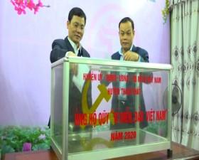 """Thạch Thất Phát động ủng hộ Quỹ """"Vì biển, đảo Việt Nam"""" năm 2020"""
