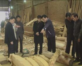 Lãnh đạo huyện Thạch Thất kiểm tra hoạt động sản xuất kinh doanh đầu năm 2014 trên địa bàn huyện