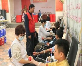 Thạch Thất tổ chức Ngày hội hiến máu tình nguyện