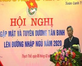 Huyện Thạch Thất gặp mặt tân binh năm 2020