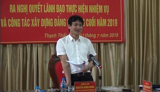 Đảng ủy Quân sự huyện: Hội nghị ra Nghị quyết lãnh đạo thực hiện nhiệm vụ và công tác xây dựng Đảng 6 tháng cuối năm 2019