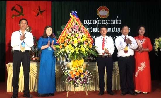 Lại Thượng tổ chức Đại hội điểm Mặt trận cấp xã, nhiệm kỳ 2019 - 2024