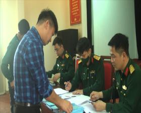 Ban CHQS huyện Thạch Thất chi trả phụ cấp trách nhiệm Quý 1 năm 2021