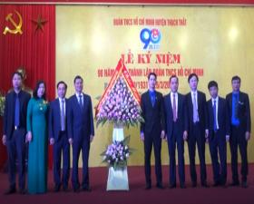 Thạch Thất kỷ niệm 90 năm ngày thành lập Đoàn TNCS Hồ Chí Minh