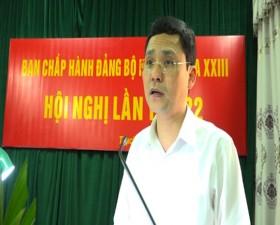 Hội nghị lần thứ 22- Ban chấp hành Đảng bộ huyện Thạch Thất khóa XXIII