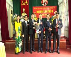 Đại hội Đảng bộ cơ quan Dân, Đảng Huyện ủy Thạch Thất lần thứ II, nhiệm kỳ 2020- 2025