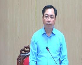 UBND huyện giao ban tiến độ xây dựng nông thôn mới của huyện và nông thôn mới nâng cao xã Đại Đồng