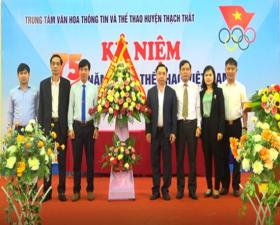 Thạch Thất kỷ niệm 75 năm Ngày Thể thao Việt Nam