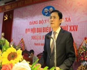 Đại hội Đảng bộ xã Thạch Xá lần thứ XXV, nhiệm kỳ 2020 - 2025