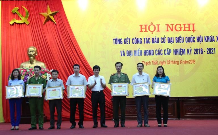 Huyện Thạch Thất tổng kết công tác bầu cử.