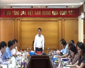 Ban Tổ chức Thành ủy Hà Nội làm việc với Ban Thường vụ Huyện ủy Thạch Thất về công tác xây dựng Đảng
