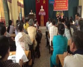 Hội Người khuyết tật huyện Thạch Thất kỷ niệm ngày Người khuyết tật Việt Nam