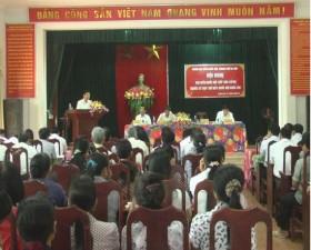 Đại biểu Quốc hội tiếp xúc cử tri tại xã Dị Nậu