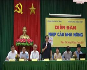Hội thảo Nhịp cầu nhà nông