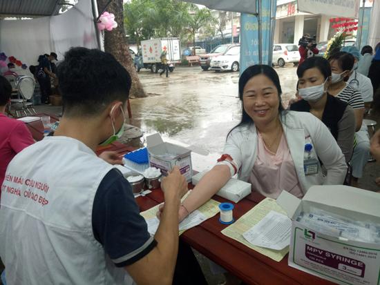 Bệnh viện Đa khoa huyện tổ chức Ngày hội Hiến máu tình nguyện năm 2020