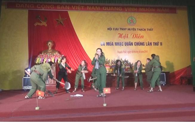 Hội diễn văn nghệ quần chúng TNXP huyện Thạch Thất lần thứ 2.