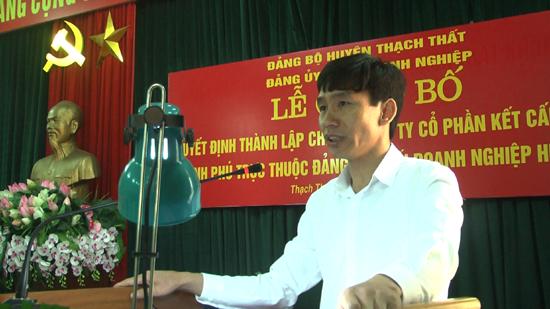 Lễ công bố Quyết định thành lập Chi bộ Công ty Cổ phần kết cấu thép Bình Phú