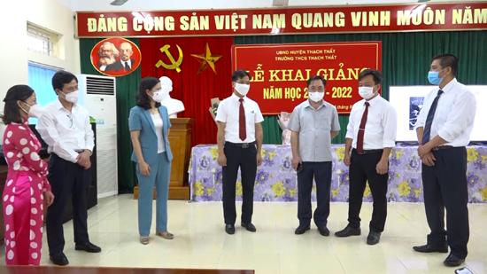 Ngành Giáo dục- Đào tạo huyện Thạch Thất sẵn sàng tâm thế bước vào năm học mới