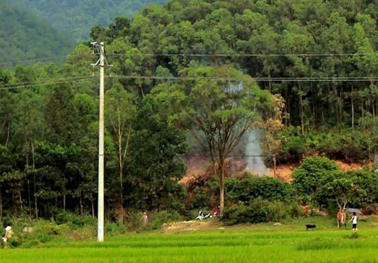 Thạch Thất: Chủ động phòng cháy, chữa cháy rừng mùa khô hanh năm 2018