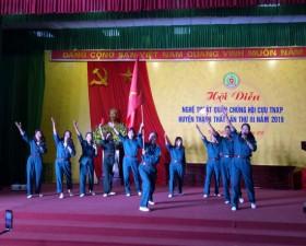 Hội diễn nghệ thuật quần chúng Hội Cựu thanh niên xung phong huyện Thạch Thất- lần thứ 3