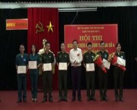 Hội thi báo cáo viên giỏi lực lượng vũ trang- Cụm thi đua số 4 năm 2019