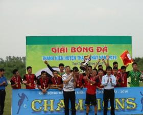 Chung kết giải Bóng đá thanh niên huyện Thạch Thất năm 2019
