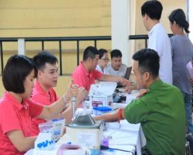 Thạch Thất tổ chức Hiến máu tình nguyện tại cụm 8 năm 2019