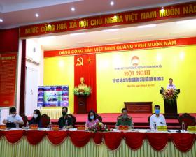 Người ứng cử đại biểu Quốc hội khóa XV tiếp xúc với cử tri huyện Thạch Thất