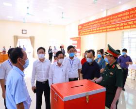 Công tác lãnh đạo, chỉ đạo và tiến hành các bước trong công tác bầu cử của huyện Thạch Thất đảm bảo bài bản, nghiêm túc, chặt chẽ, đúng luật